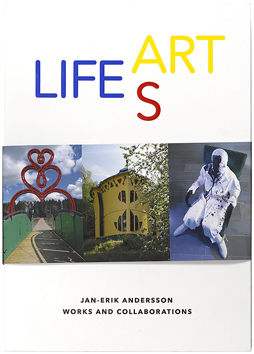 Life as Art book Jan-Erik Andersson